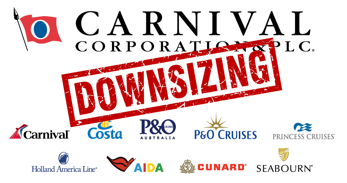 Carnival Corporation Downsizing
