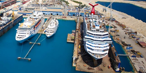 Carnival Cruise Lines - Dry Dock