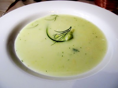Cucumber Soup (chilled) - Carnival Cruise Lines