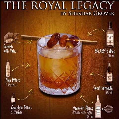 The Royal Legacy Recipe - Royal Caribbean International