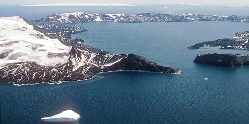 Port of Deception Island, Antarctica