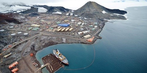 Port of McMurdo Station, Antarctica