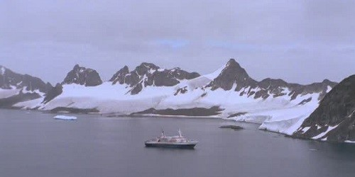 Port of South Orkney Islands, Antarctica
