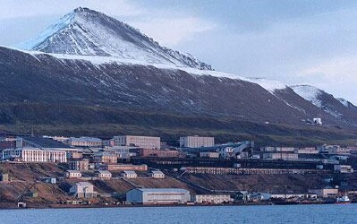 Port of Barentsburg, Norway