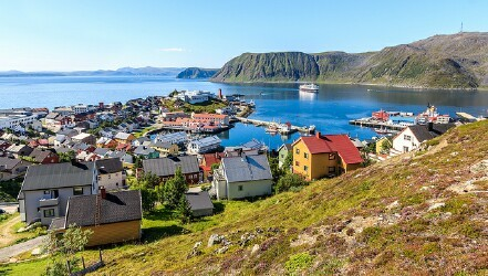 Port of Honningsvåg, Norway
