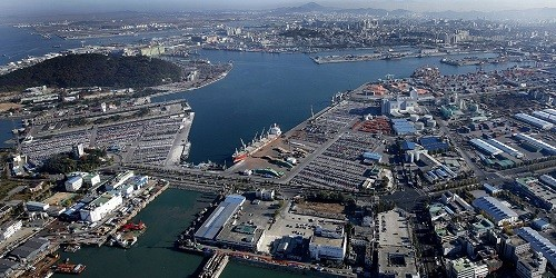 Port of Incheon, South Korea