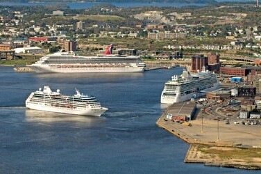 Port of Saint John, New Brunswick, Canada