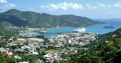 Port of Road Town, Tortola