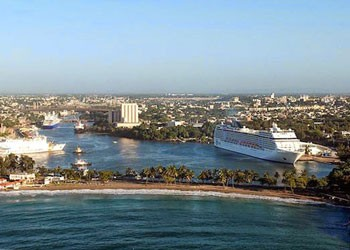 Port of Santo Domingo, Dominican Republic