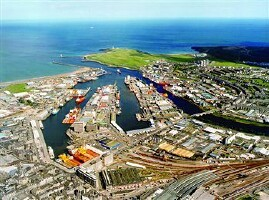 Port of Aberdeen, Scotland