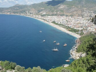 Port of Alanya, Turkey