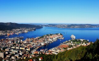 Port of Bergen, Norway