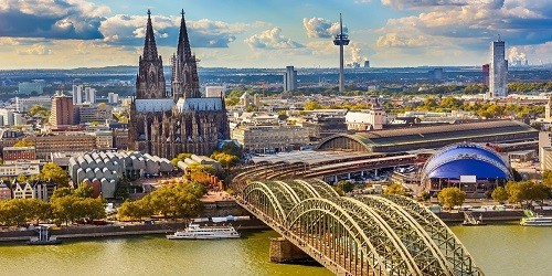 Port of Cologne, Germany