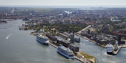 Port of Copenhagen, Denmark