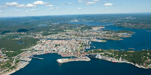 Port of Kristiansand, Norway
