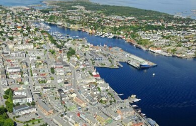 Port of Kristiansund, Norway