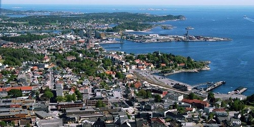 Port of Larvik, Norway