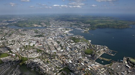 Port of Plymouth, England
