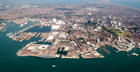 Port of Portsmouth, England