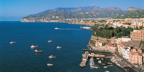 Port of Sorrento, Italy