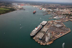 Port of Southampton, England