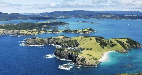 Port of Bay of Islands, New Zealand