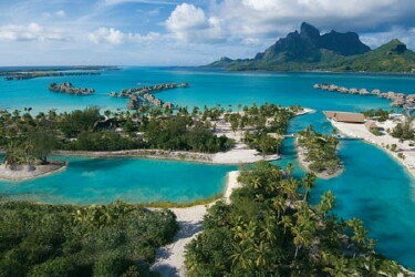 Port of Bora Bora, French Polynesia