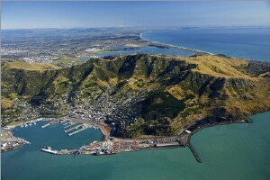 Port of Christchurch (Lyttelton), New Zealand