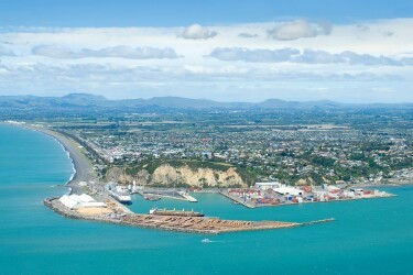 Port of Napier, New Zealand