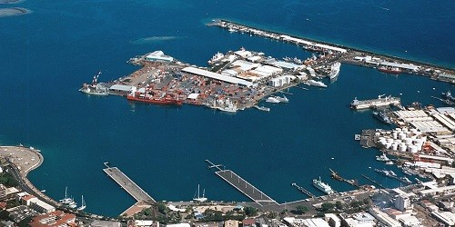 Port of Papeete (Tahiti), French Polynesia