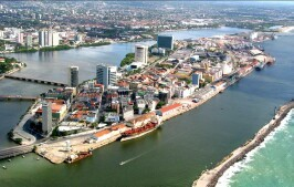 Port of Recife, Brazil