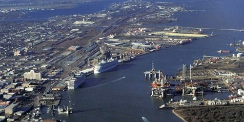 Port of Galveston, Texas