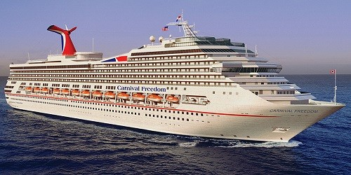 Carnival Freedom Ship Tracker Tracking Map Live Carnival - Cruise ship trackers