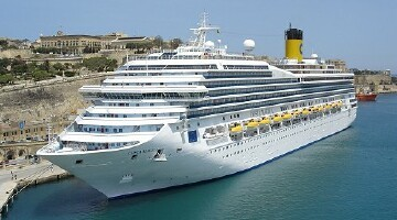 Costa Magica Webcams Costa Magica Bridge Forward Webcam - Webcams on cruise ships