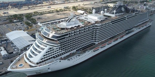 MSC Seaside Ship Tracker / Tracking Map Live | MSC Seaside ...