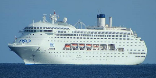 Pacific Jewel - P&O Cruises (AU)