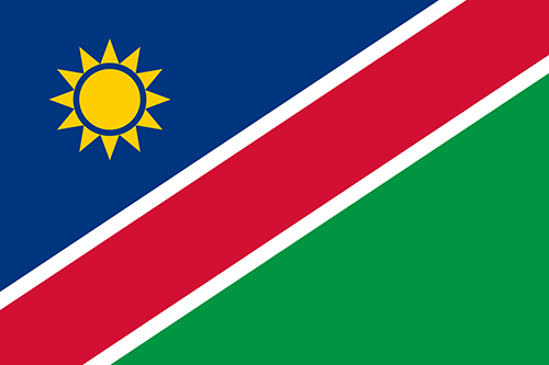 Namibia Cruise Port Country Flag