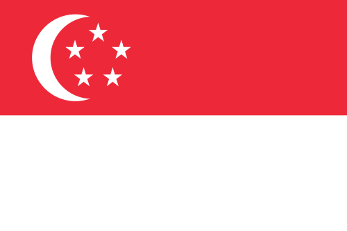 Singapore Cruise Port Country Flag