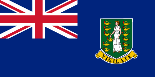 British Virgin Islands Cruise Port Country Flag