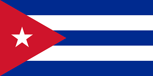 Cuba Cruise Port Country Flag