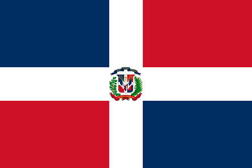 Homeport Country Flag Of Dominican Republic