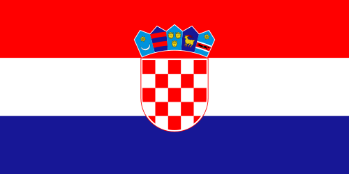 Croatia Cruise Port Country Flag