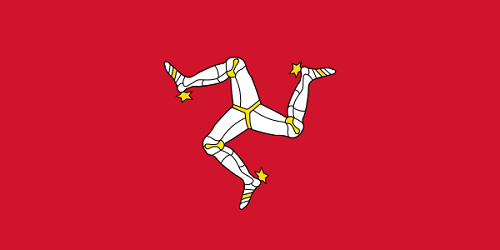 Isle of Man Cruise Port Country Flag