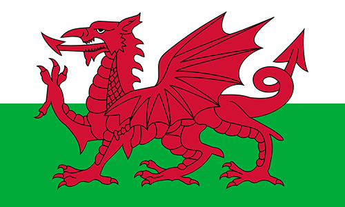 Wales Cruise Port Country Flag