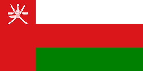 Oman Cruise Port Country Flag