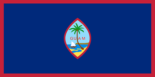 Homeport Country Flag Of Guam