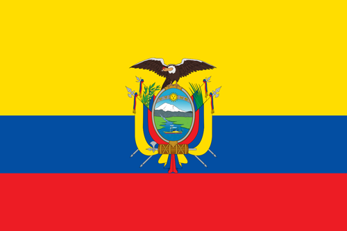 Homeport Country Flag Of Ecuador