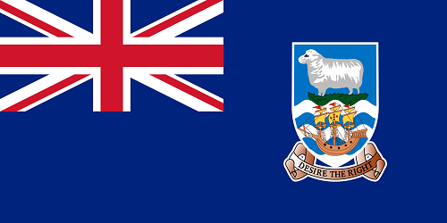 Falkland Islands Cruise Port Country Flag